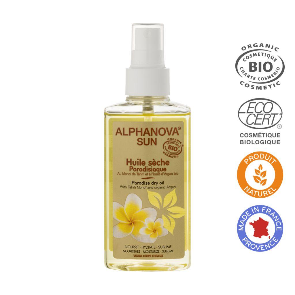 Huile Sèche Paradisiaque Bio Spray 125Ml