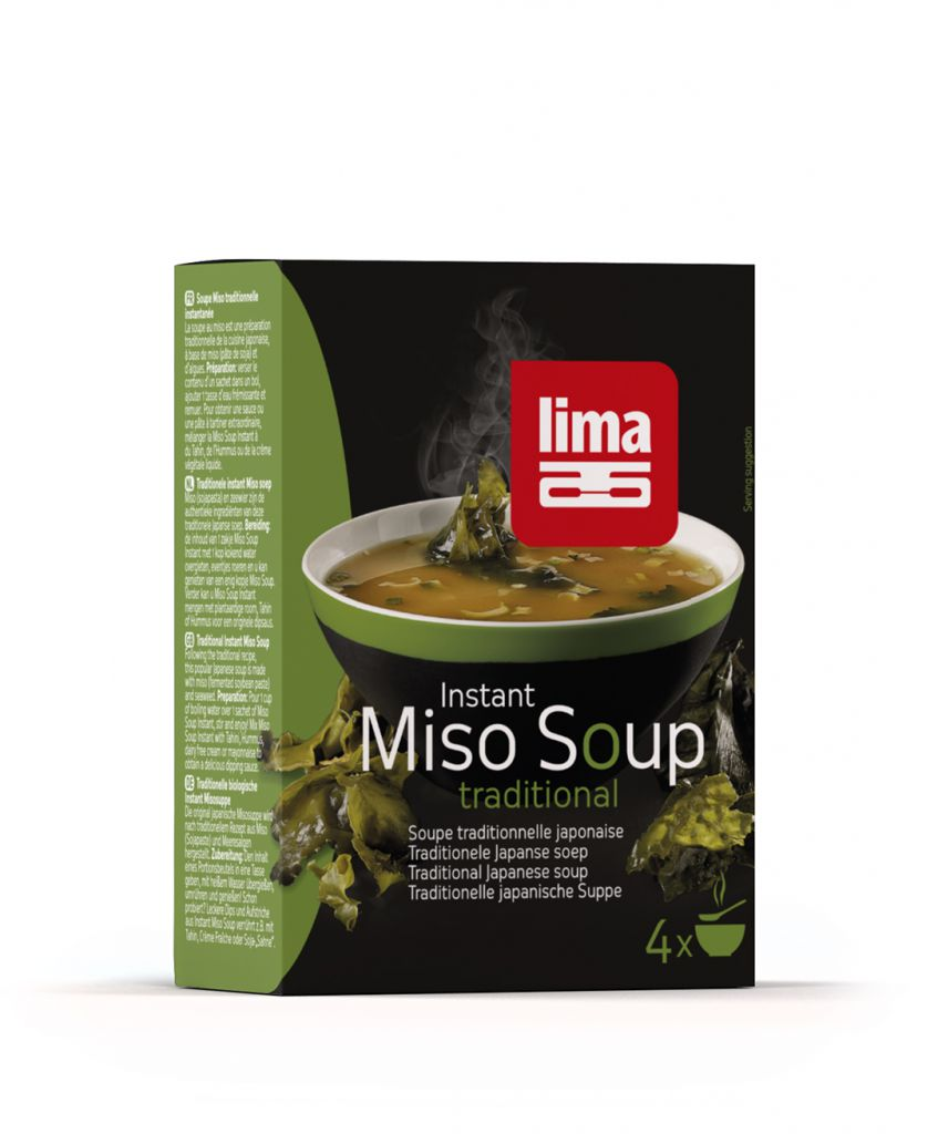 Instant Miso Soupe Traditionnelle 4X10G