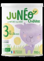 Juneo Chèvre 3 Lait De Croissance 12-36 Mois 900G