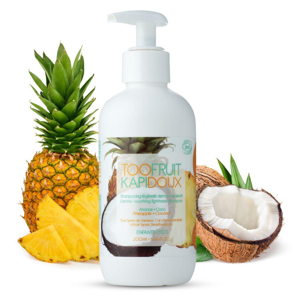 Kapidoux Shampoo Pineapple Coconut 200ml Toofruit