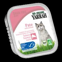 Kattenvoer Pate Zalm Bio 100G Yarrah