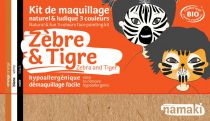 Kit de Maquillage Zèbre & Tigre 3 couleurs Namaki
