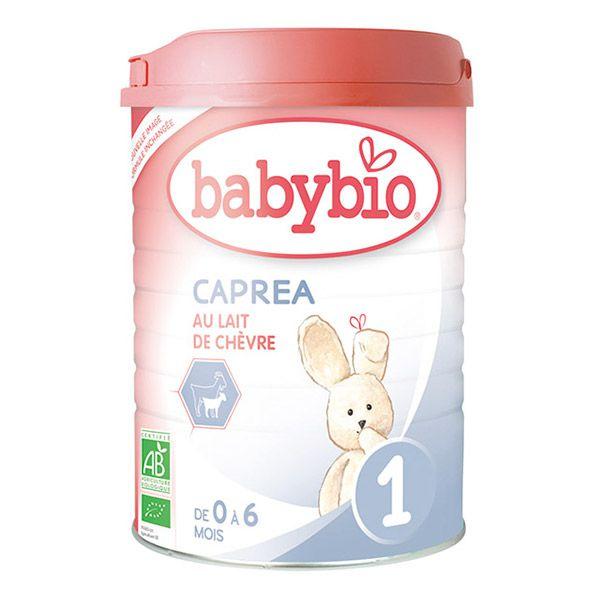 Lait 1er âge Caprea 1 Chèvre Bio 900G Babybio