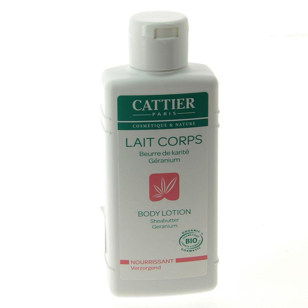 Lait Corps Beurre De Karité Geranium Bio 200Ml