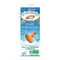 Lait d\'amandes sans sucre 1L La Mandorle