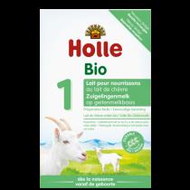 Lait de chèvre pour Nourrissons 1er âge 0-6 mois Bio 400g Holle