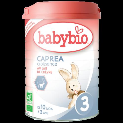 Lait de croissance chèvre bio Caprea 3 - Dès 10 mois Babybio