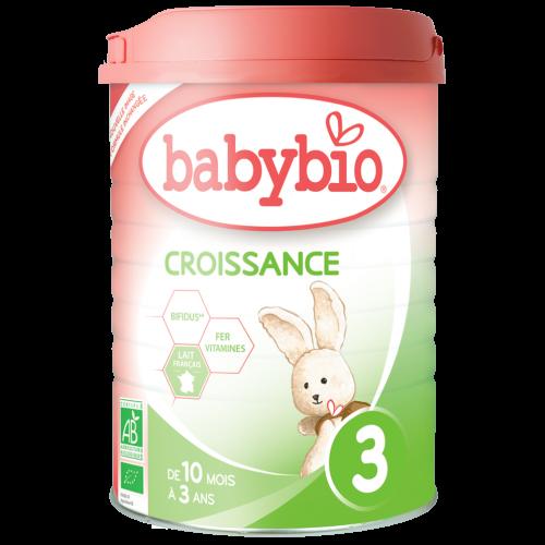 Lait De Croissance Poudre Bio 10-36 Mois 900G Babybio