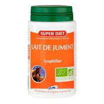 Lait de jument 90 gélules Super Diet