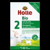 Lait de suite de chèvre 2ème âge dès 6 mois Bio 400g Holle