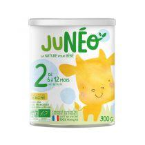 Lait Infantile 2ème âge 6-12 mois 900g Juneo