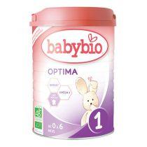 Lait Nourisson Optima 1 Bio 0-6 Mois 900G Babybio