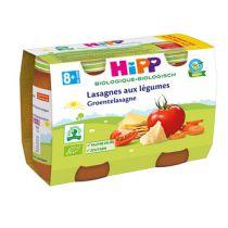 Lasagne aux Légumes 8M 2x190g Hipp