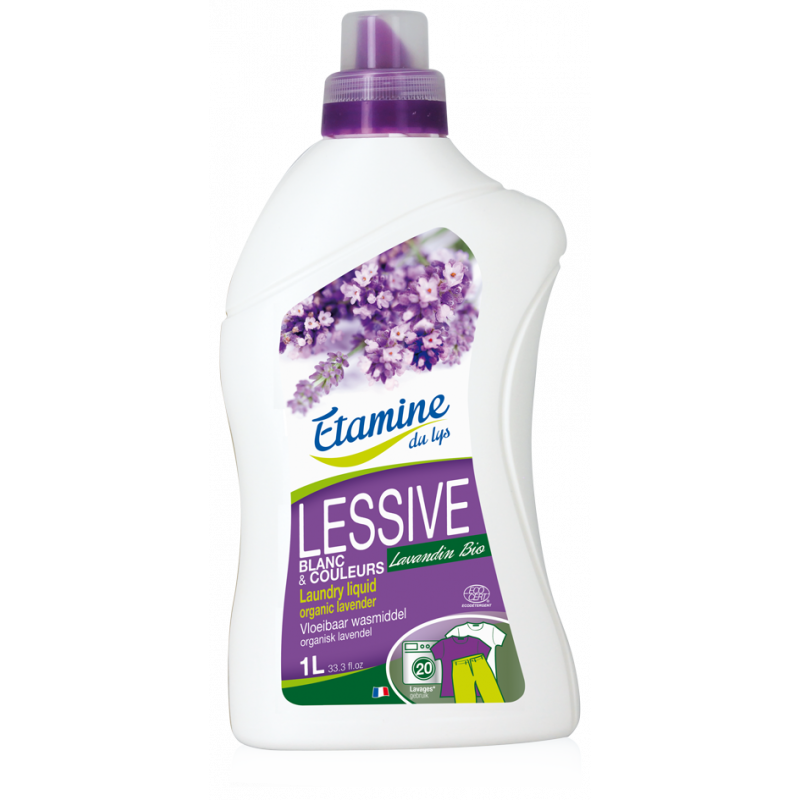 Laundry Liquid Organic Lavender 1L Etamine Du Lys