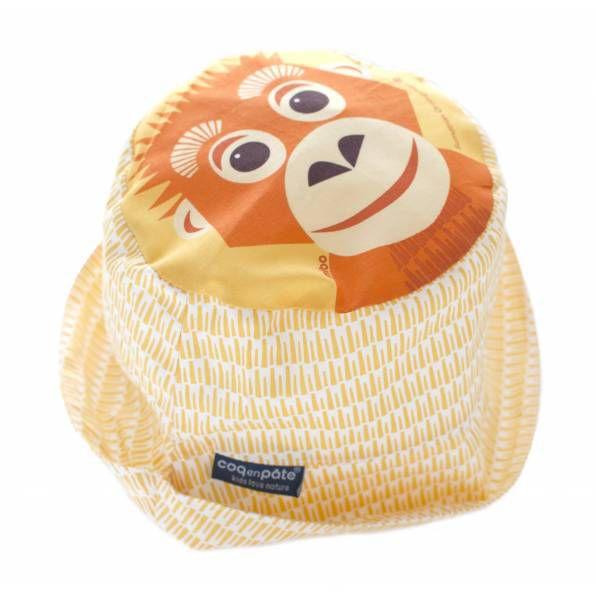 Lemur Sun Hat Coq en Pâte
