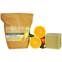 Lessive Poudre Recharge 2Kg Orange
