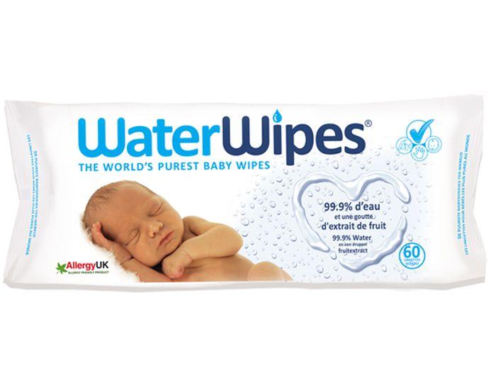 Lingettes à l\'Eau 60 Lingettes Waterwipes