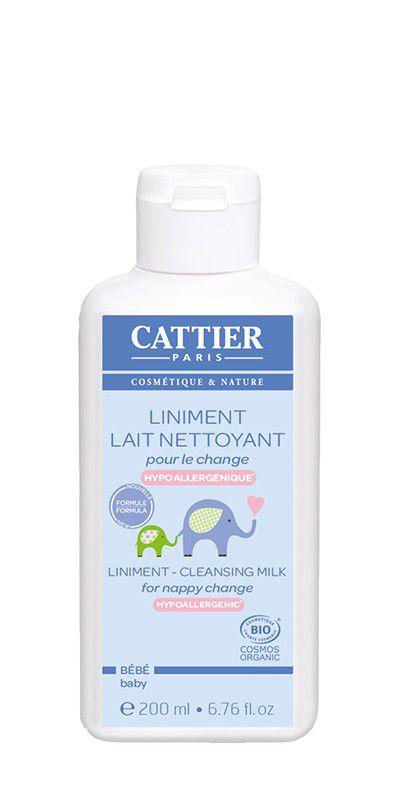 Liniment Nettoyant pour le Change 200ml Cattier