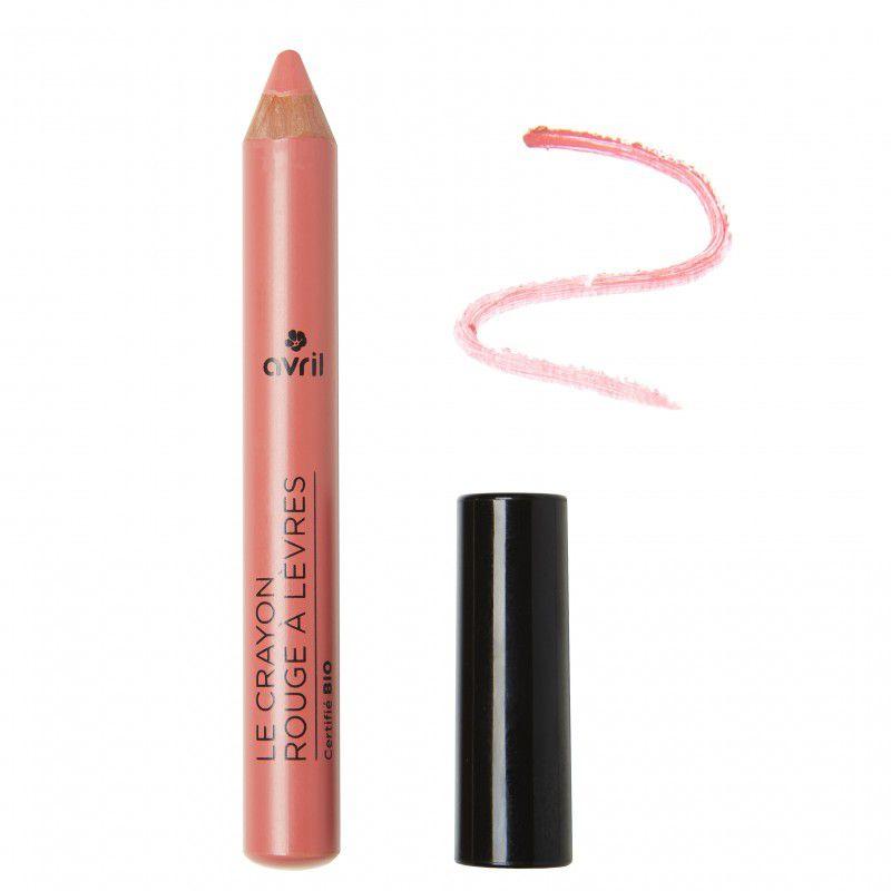 Lipstick Pencil Bois De Rose Organic Avril