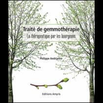 Livre Traite De La Gemmotherapie Philippe Andrianne Editions Amyris French