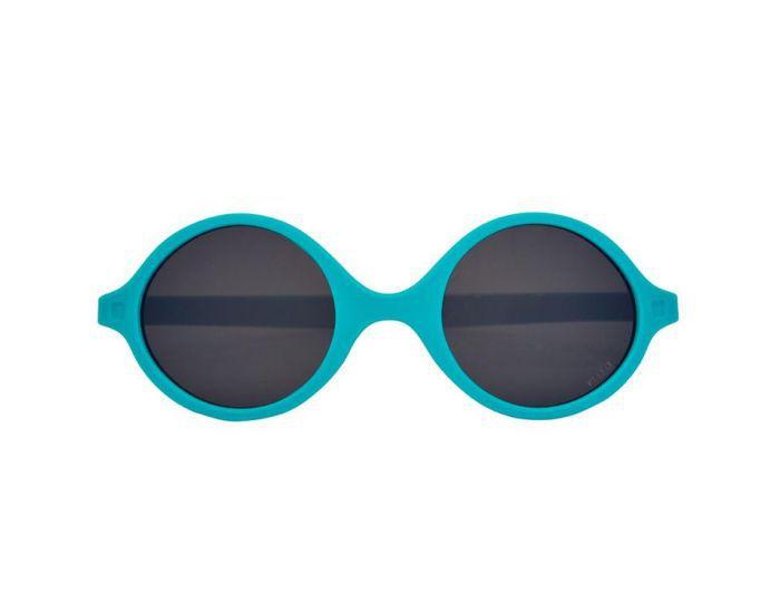 Lunettes de Soleil Diabola 0-1 an Bleu Paon Ki et La