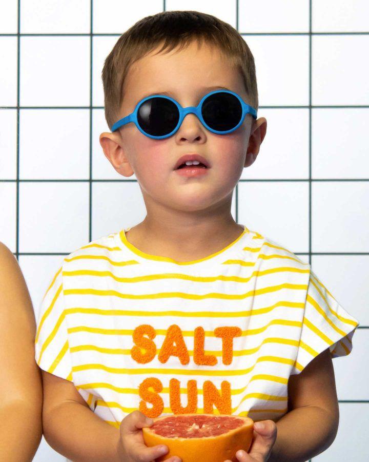 Lunettes de Soleil Wazz 2-4 ans Bleu Medium Ki et La