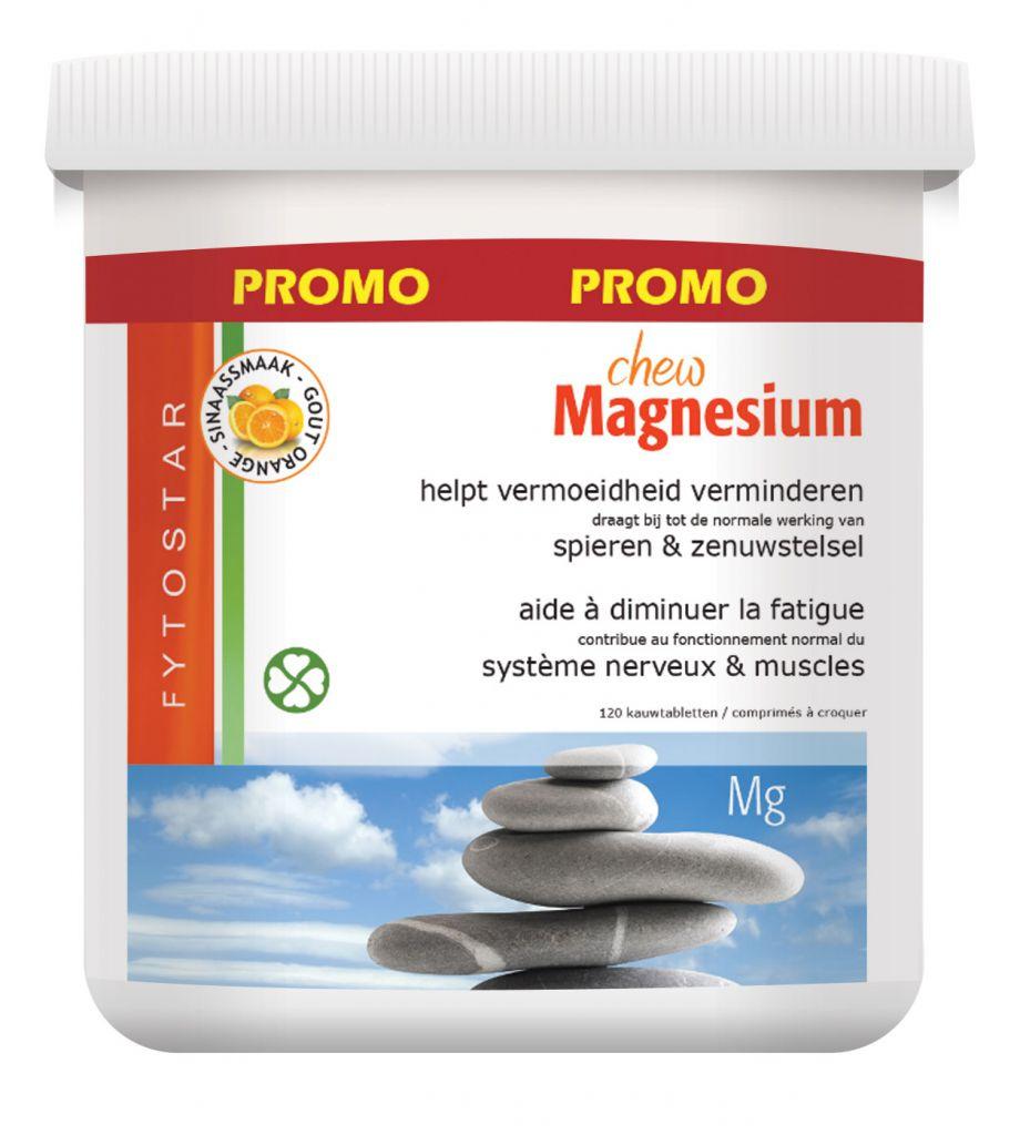 Magnesium 120 Comprimés À Croquer