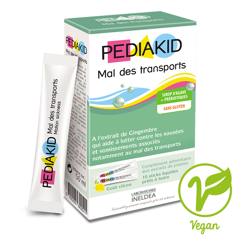 Mal des Transports Pediakid 10 sticks