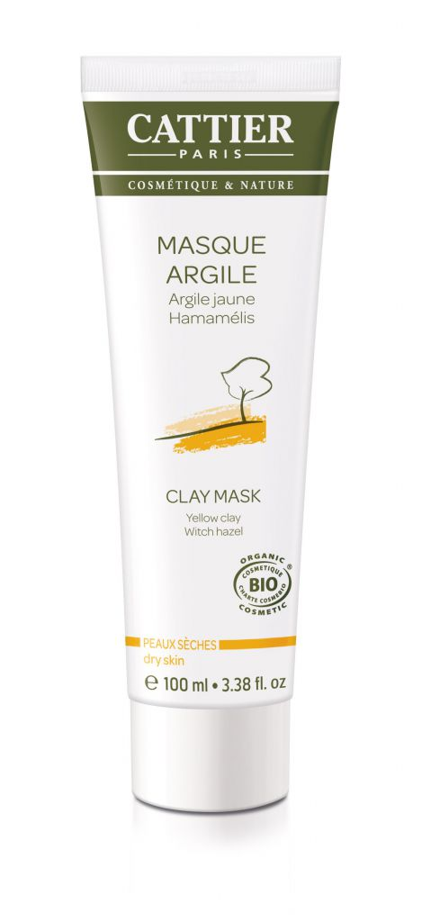 Masque Argile Jaune 100ml Cattier