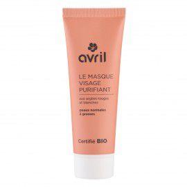 Masque Visage Purifiant Bio 50Ml