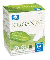 Menstrual Pads Organic Moderate Flow Organyc 10 Pieces