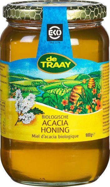 Miel d\'Acacia bio 900g De Traay