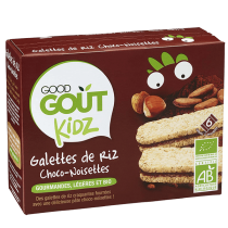Mini rice cakes Chocolate Good Gout EXPIRE 21/02/19