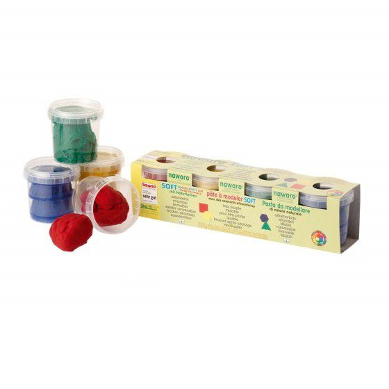 Modelling Clay 8 Colours  500G Okonorm