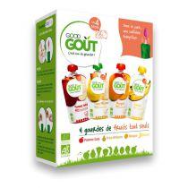 Mon kit premiers fruits 4x120g dès 4 mois Good Gout