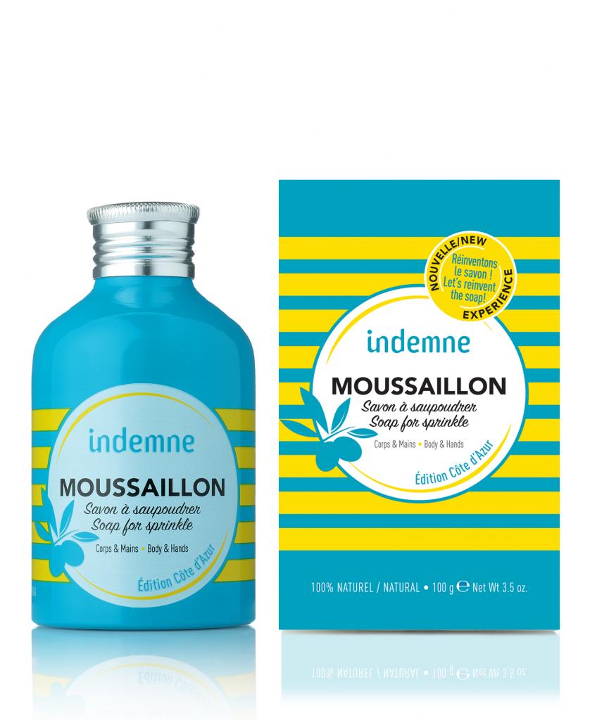 Moussaillon Savon À Saupoudrer 100G Edition Côte D\'Azur