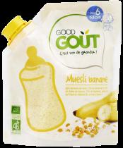 Muesli banane 200g dès 6 mois Good Gout