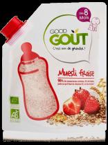 Muesli fraise 200g dès 8 mois Good Gout