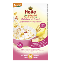 Muesli junior multicéréales fruits dès 10m Holle
