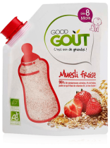 Muesli strawberry 200g from 8 months END DATE 29/11/17