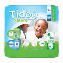 Nappies Night & Day 12-25Kg T5 XL 22 Pieces Tidoo