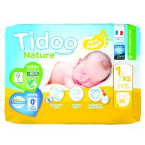 Nappies Night & Day 3-6Kg T2 31 Pieces Tidoo