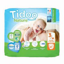 Nappies Night & Day 4-9Kg 3 Midi 56 Pieces Tidoo