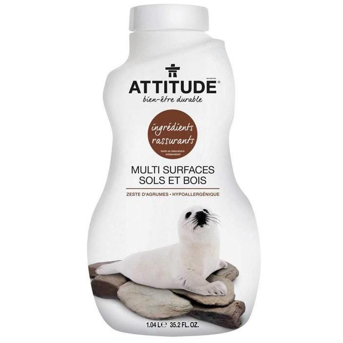 Natural Floor Surfaces Cleaner Tiles & Wood Attitude 1000Ml