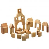 Natural Wood Building Blocks Lanka Kade