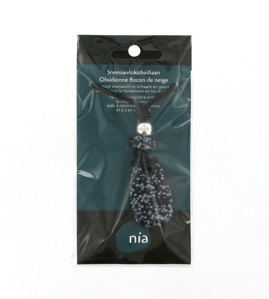 Neckless Stone Obsidian Nia