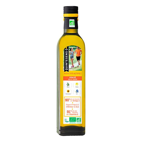 Oil Young And Active Till 50Years Organic 50Cl Quintesens
