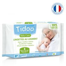 Organic compostable wipes with perfume 58 Tidoo wipes