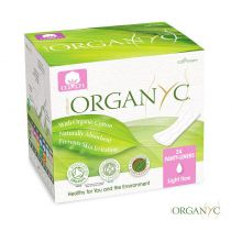 Organic Cotton Panty Liners Pocket 24 Pieces Organyc