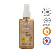 Organic Dry Glitter Oil Spray 125Ml Alphanova